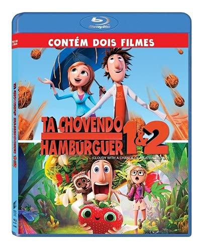 Tá Chovendo Hambúrguer 1 e 2 Blu-ray