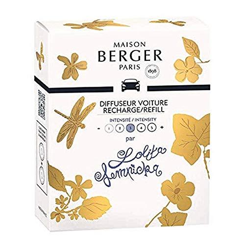 MAISON BERGER PARIS - 6438 - LOT DE 2 RECHARGES POUR DIFFUSEUR VOITURE PARFUM LOLITA LEMPICKA