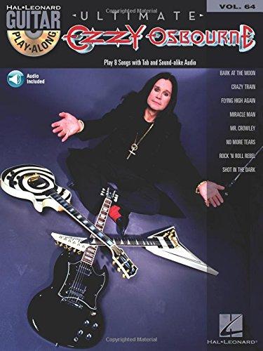 Ultimate Ozzy Osbourne: Noten, CD für Gitarre: Guitar Play-Along Volume 64