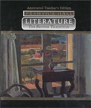 Hardcover Prentice Hall Literature: The British Tradition Book