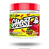 GHOST Gamer: Sour Patch Kids Redberry (40 Serv) Energy and Focus Support Formula - Brain-Boosting Nootropics and Natural Caffeine
