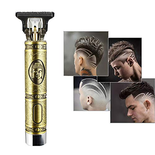 Hair Clippers for Men,2020 New Upgraded 0mm Baldheaded Hair Clippers, Zero Gapped Pro Li Outliner Grooming Rechargeable Cordless Close Cutting T-Blade Trimmer Kits