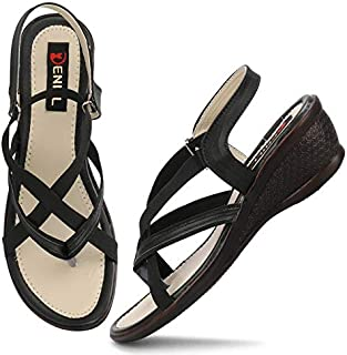 Denill Comfortable, Stylish & Adjustable Sandals for Women and Girls