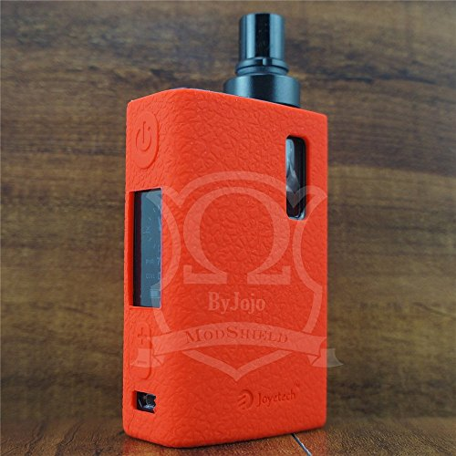 ModShield for eGrip II 2 Joyetech 80W TC Silicone Case Skin ByJojo Cover Sleeve Wrap (Red)