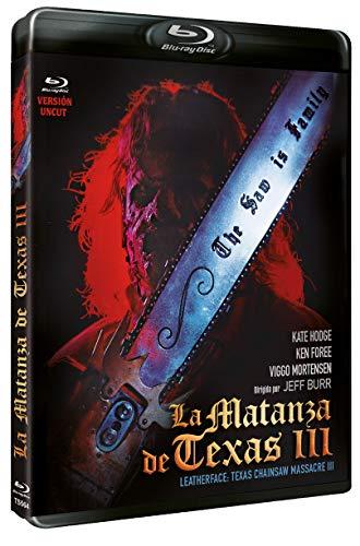 La Matanza de Texas III BD 1990 Leatherface: Texas Chainsaw Massacre III (Texas Chainsaw Massacre 3) [Blu-ray]