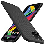 iBetter für Google Pixel 4 XL Hülle, Ultra Thin Tasche Cover Silikon Handyhülle Stoßfest Hülle Schutzhülle Shock Absorption Backcover Hüllen passt für Google Pixel 4 XL Smartphone (Schwarz)