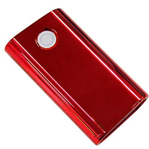 glo専用 ケース グロー 煙草 電子タバコ カバー メタル メッキ メタリック レッド FJ3847-06