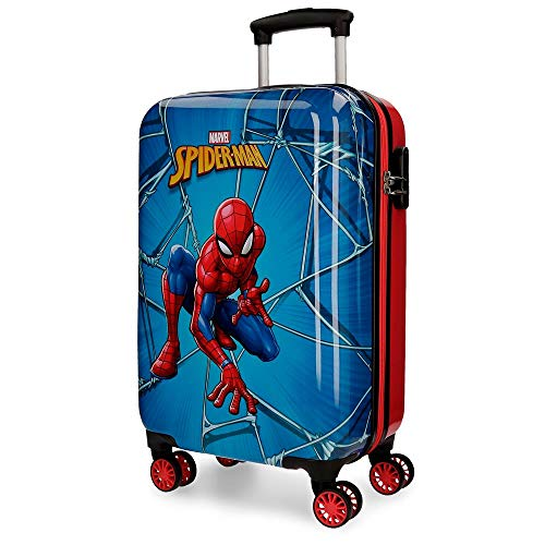 Marvel Spiderman Black Equipaje infantil, 55 cm, 37.4 litros, Multicolor
