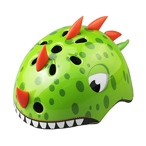 Best Buy! ADSRO Multi-Sports Safety Helmet 3D Cute Animals Design Cartoon Adjustable Bicycle Helmets...
