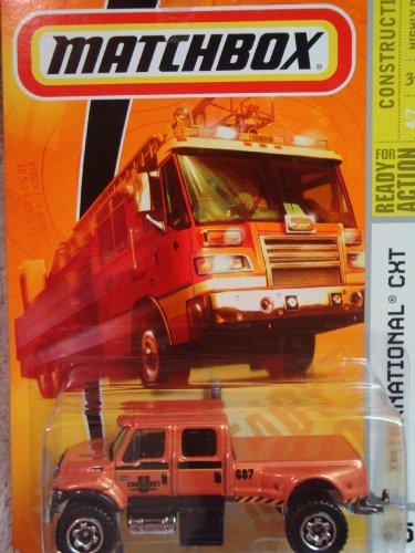 Matchbox International CXT Construction Series #65 Metallic Orange 1:64 Scale