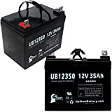 2X Pack - Pride Legend Scooter Battery - Replacement for UB12350 Universal Sealed