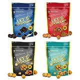 Popcorn Prima mondiale speciali in quattro deliziosi gusti...