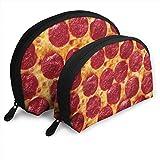 Portefeuilles Femme Saucisse au Four Pizza Sac de rangementtique 2Pcs Papeterie Crayon Sac Enfant Portefeuille Porte-clés Sac à Main