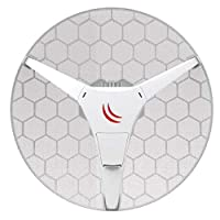Mikrotik RBLHG-60ad CPE 60GHz for Point-to-Multipoint Connections up to 800m with 10/100Mbps Ethernet Port RouterOS L3