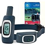 PetSafe 900 Yard Remote Training Collar – Choose from Tone, Vibration, or 15 Levels of Static Stimulation – Longest Range Option for Training Off Leash Dogs – Waterproof and Durable – Rechargeable