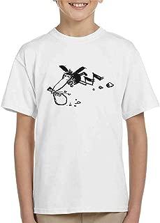 Comics Kingdom Krazy Kat Joe Stork Sack Flying Kid's T-Shirt