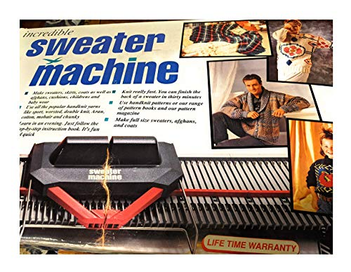Bond Incredible Sweater Machine Knitting Machine