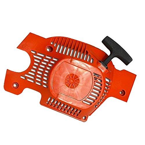 Ersatz Seilzugstarter Kettensäge Recoil Pull Starter Assembly Kettensäge Ersatzteile aus Kunststoff Für Husqvarna 136 137 141 142