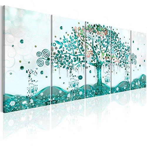 murando - Cuadro en Lienzo Arbol Klimt 225x90 cm Impresión