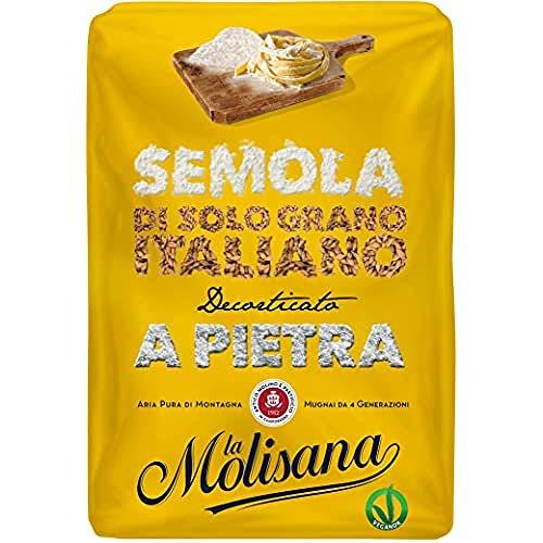 La Molisana, Semola di Grano Duro, SOLO Grano Italiano - 1kg