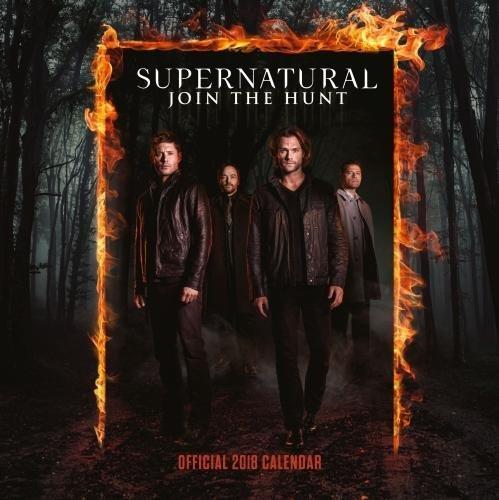 Supernatural Official 2018 Calendar - Square Wall Format (Calendar 2018)