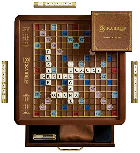 Winning Solutions Scrabble Luxury Edition Board Game