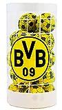BVB-Schokoladenfußbälle - Weihnachten 2019 - Schokobälle-Dose (125 g) - Schoko - Fußball - Logo - Liga - Fanartikel - Schokobälle - Kugeln - (7,16 € / 100 g)