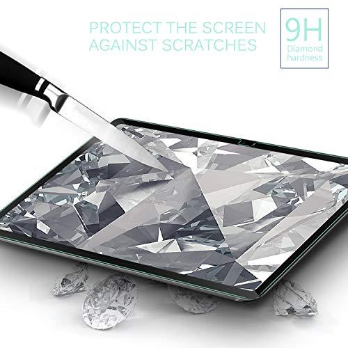 IVSO Displayschutz Kompatibel mit Samsung Galaxy Tab A7 10.4 2020, 9H Härte, 2.5D Panzerglas, Samsung Galaxy Tab A7 T505/T500/T507 10.4 Zoll 2020, (2 x)