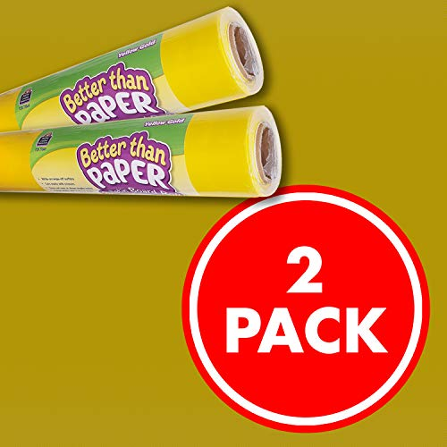 Yellow Gold Better Than Paper Bulletin Board Roll 2-Pack