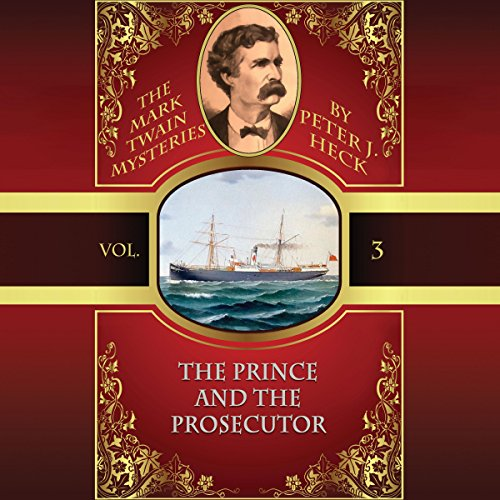 The Prince and the Prosecutor audiobook cover art