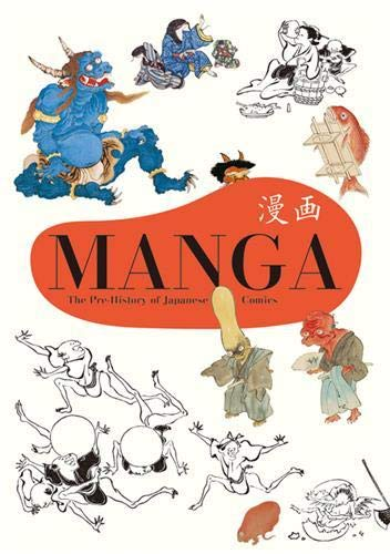 Manga The Pre-History of Japanese Comics