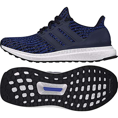 adidas Ultraboost Unisex Kids Training Shoes Blue TrabluLeginkCblack 000 4 UK 36 23 EU