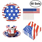 CLASSIC AMERICAN FLAG DESIGNS SUPPLIES. These beautiful colored paper plates, napkins and mini flags are designed with classic American flag patterns, suitable for 4th of July Parties, Labor Day, Presidents' Day, Veterans Day and Memorial Day. A BIG ...