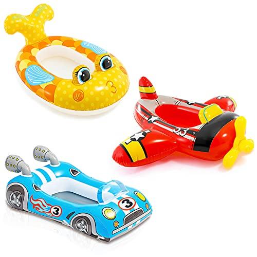 Anello di Nuoto,OYSJ Anello da Nuoto Gonfiabili, Seggiolino Piscina per Bambini, con Il bracciolo del Volante Anello da Nuoto per Bambini per...