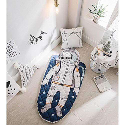 Zijden Astronaut Baby Slaapzak Haai Zeemeermin Envelop Voor pasgeboren baby Winter Dikke Swaddle Deken Wikkel Beddengoed