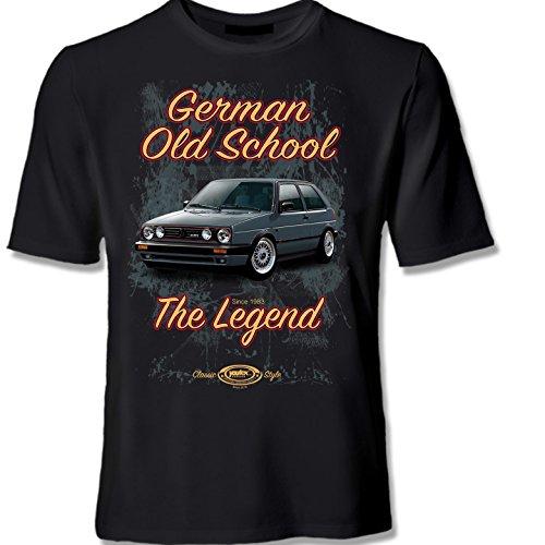 youtex Golf 2 MK2 GTI Old School T Shirt (L)
