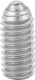 Garosa 20PCs Spring Ball Plunger Screw Professional Stainless Steel Spring Hexagon Socket Ball Point Grab Plunger Screw Set(M38)