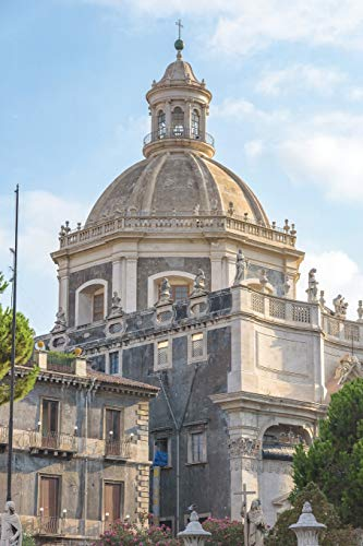 Notebear: Church Of The Badia Di Sant'Agata In Catania Journal (Travel Notebook & Diary with Alternate Blank & Lined Pages, Band 216)