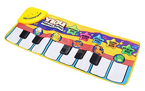 Ubesta Mode Musical Tactile Clavier Singing Moquette Tapis Drôle Musical Animal clavier Piano Jouet