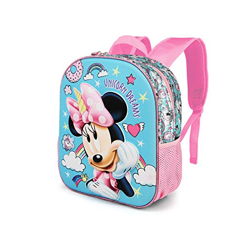 Karactermania Minnie Mouse Unicornio: Mochila 3D Pequeña  Multicolor