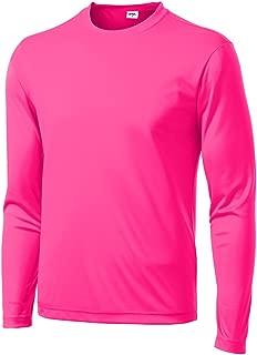 Men's Long Sleeve Moisture Wicking Athletic Shirts