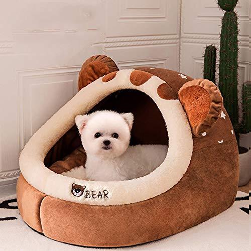 Pet House Puppy Kennel Matt För Hundar Djur Katt Kattunge Nest Vikbara Små Hundar Korg Cave Dog Bed 2020 L 1
