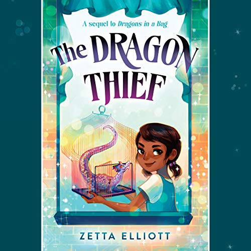 The Dragon Thief audiobook cover art