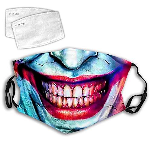 Choarica Clown Face Jo-Ker Mouth Dust Mask Windproof Muffle Reusable...