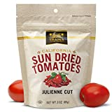 Traina Home Grown California Sun Dried Julienne Cut Sun Dried Tomatoes - 3 oz.,12 pk - Non GMO,...