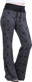 Women Pajama Pants Wide Leg Cat Kitty Print Sleepwear Casual Flare Trousers