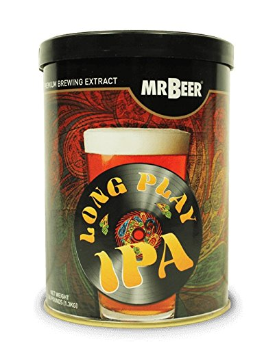 Mr. Beer Long Play IPA 2 Gallon Homebrewing, Refill, Multicolor