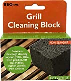 Unique Imports Grill Stone Grill Cleaning Magic Block Commercial Grade Pumice Stone Cleaner Sanitize Restaurant Flat Top Grills Griddle Without Harsh Chemicals BBQ Multiple Packs (4)
