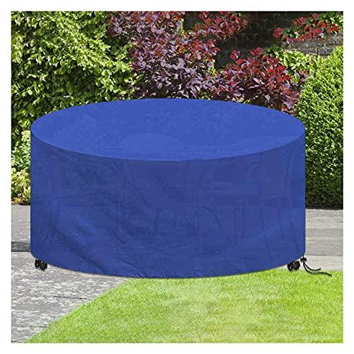 Fodera per mobili da giardino,Impermeabile 420D Oxford Copertura per Mobili da Giardino,Copertura Tavolo Esterno Rotondo Coperture per Tavoli da Giardino