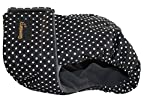 Glenndarcy Couches de Chien Femelles | Lavable | Dotty Black Small Pants Only #1